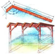 Plans For Building A Firewood Shed by How To Build A Timber Frame Woodshed Diy Mother Earth News