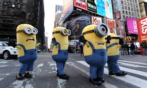 thanksgiving day celebrations minions take over manhattan multimedia dawn com