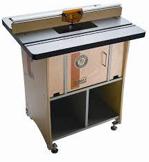 Dog Cabinet Bench Dog 40 300 Promax Rt Complete Router Tables Amazon Com