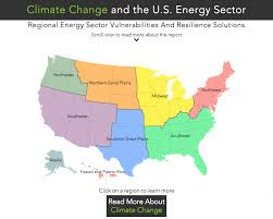 us climate map regional climate vulnerabilities and resilience solutions