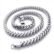 2015 men s jewelry 8mm 60cm new arrival power necklaces konov stainless steel mens necklace link chain silver length