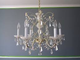 Painted Chandelier Roundup 10 Stylish Chandelier Makeovers Curbly