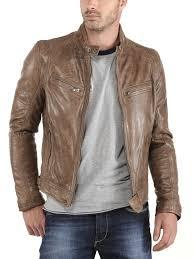 tenue de ville homme veste cuir homme comment bien porter un cuir