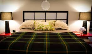 diy halloween lighting effects bedroom white iron double bed gold mirrored nightstand diy