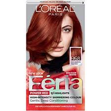 true hair l oréal feria permanent hair color r68 ruby