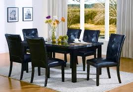 bedroom mesmerizing granite top dining table contemporary black