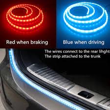 led light strip turn signal newest car tuning turn signal light strip led trunk tailgate light