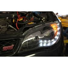 subaru wrc 2007 spec d replacement headlamps 2006 2007 impreza wrx sti 2006 wrx