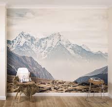 mountain vista self adhesive wallpaper mural by oakdene designs