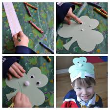 east coast mommy preschooler craft st patrick u0027s day hat