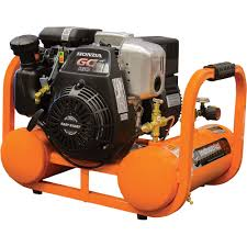 industrial air contractor pontoon air compressor with honda ohc