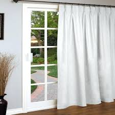 Thermal Back Curtains Patio Door Panels Monte Carlo Sheer Voile Sidelight Panel