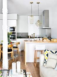 cuisine amenager une cuisine ouverte sur le salon appartement petit