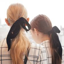 ribbon ponytail how to do a ponytail that won t be mistaken for hair