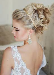 Elegant Bridal Hairstyles by Hairstyles Elegant Wedding Hairstyles With Nice Updos With Curly