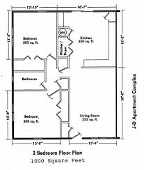 apartments 2 bedroom plan house house plans bedroom bath ranch