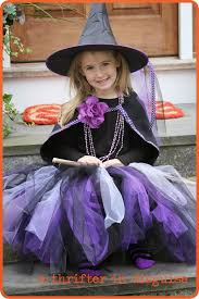 Witch Halloween Costumes Girls Thrifter Disguise Long U0026 Lovely Diy Tutus