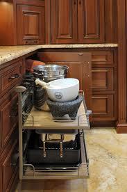 oak wood dark roast windham door corner kitchen cabinet storage