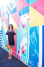 wear where well 2 graphic striped and flower wall