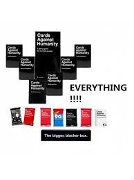 cards against humanity reject pack buy new cards against humanity cards set everything