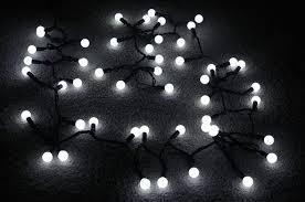 white string lights bulk 100 cool white led large ball string lights 34ft black cord on