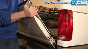 how to install remove replace tailgate ford f150 f250 f350 92 96