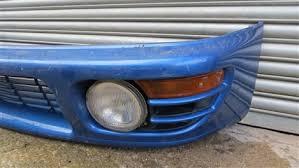 subaru impreza fog lights subaru impreza wrx sti v3 v4 pre facelift front bumper complete with