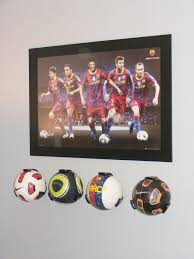 ordinary soccer bedroom decor macu0027s room cool soccer ball