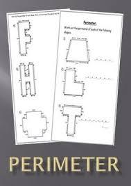 the 25 best perimeter worksheets ideas on pinterest kids math