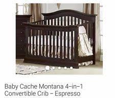 Espresso Convertible Crib Baby Cache Vienna Lifetime Convertible Crib Espresso Ebay