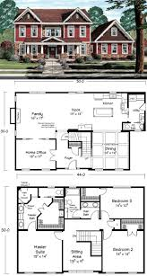 Floor Plans Two Story by 69 Best Two Story House Plans Images On Pinterest Story House