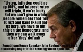 Boehner Meme - john boehner caught on open mic listen inflation could go up