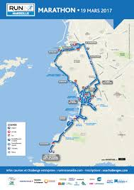 Marseilles France Map by Run In Marseille Marathon