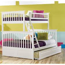 Espresso Twin Trundle Bed Bunk Beds Kids Bunk Beds With Storage Full Size Bunk Beds Loft