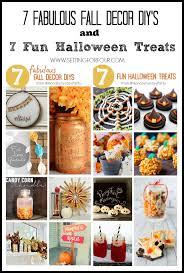 Fall Decor Diy - 7 fall diy decor projects u0026 delicious halloween recipes setting