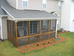 Shed Roof Over Patio by Screened Patio Ideas Officialkod Com