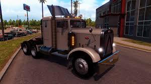 peterbilt and kenworth peterbilt 351 truck interior v3 0 american truck simulator mod