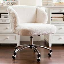 pink furry desk chair desk chairs computer chairs for teens pbteen room pinterest