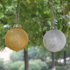 buy wholesale silver glass ornaments from china silver