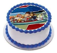 Paw Patrol Cake Decorations Paw Patrol Hero Edible Birthday Cake Or Cupcake Topper U2013 Edible