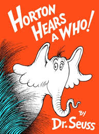 horton hears a who by dr seuss scholastic