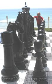 fiberglass resin chess set with 72