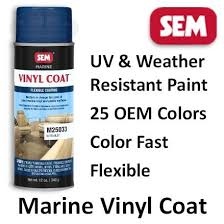 Sem Interior Dye Sem Vinyl Coat 25 Marine Oem Color Paints For Vinyl U0026 Plastic