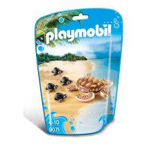 playmobile cuisine playmobil family sea turtle with babies 9071 7 00 hamleys