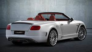 bentley bentley redesigned bentley continental gt by mansory world debut in geneva