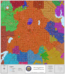 Dallas Area Code Map by Precinct Chairs U2014 Dallas County Republican Party