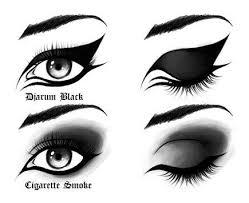 emo makeup designs