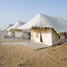 desert tent tents on a landscape sam desert jaisalmer rajasthan india