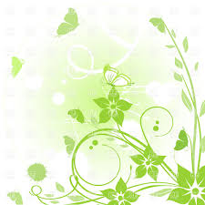 abstract pattern butterfly green abstract pattern made of flowers and butterflies royalty free