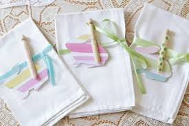 easter napkins sweet and simple easter table setting home with cupcakes and
